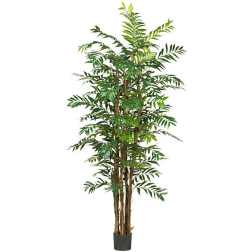Nearly Natural 7' Bamboo Palm Silk Tree
