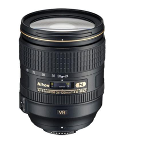 Nikon AF-S FX NIKKOR 24-120mm f/4G ED Vibration Reduction Zoom Lens with Auto Focus for Nikon DSLR Cameras [Standard Packaging, Base]