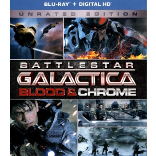 Battlestar Galactica: Blood and Chrome (Includes UltraViolet Copy) Blu-ray