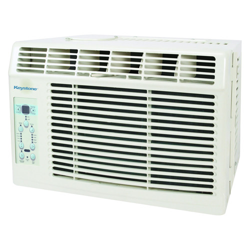 Keystone KSTAW06B Energy Star 6,000 BTU 115V Window-Mounted Air Conditioner with