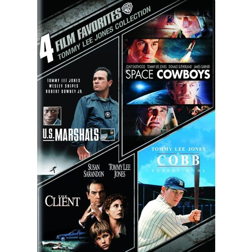 Tommy Lee Jones Collection: 4 Film Favorites [4 Discs] [DVD]
