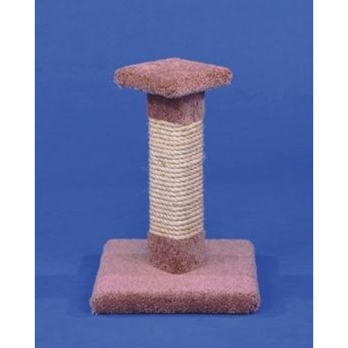 Ware Manufacturing Carpeted Kitty Cactus Cat Scratch Post, 18-Inch