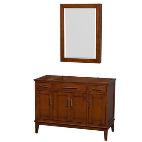 Hatton Collection 48 in Single Bathroom Vanity in Light Chestnut [WCV161648SCLCXSXXMED]