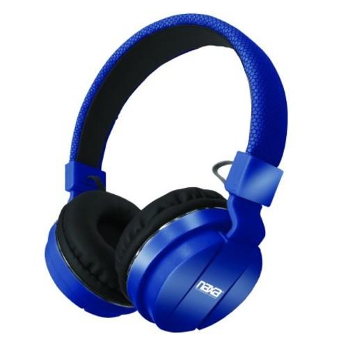 Naxa Bluetooth Wireless Stereo Headphones with Microphone - Blue