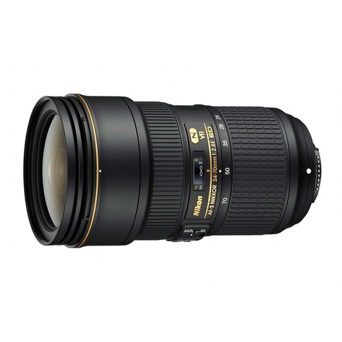 Nikon AF-S FX NIKKOR 24-70mm f/2.8E ED Vibration Reduction Zoom Lens with Auto Focus for Nikon DSLR Cameras [Base]
