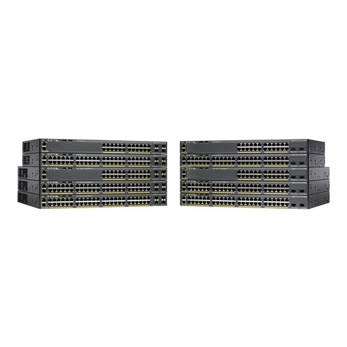 Cisco Catalyst 2960X-48TS-LL Switch - 48 ports - managed - stackable