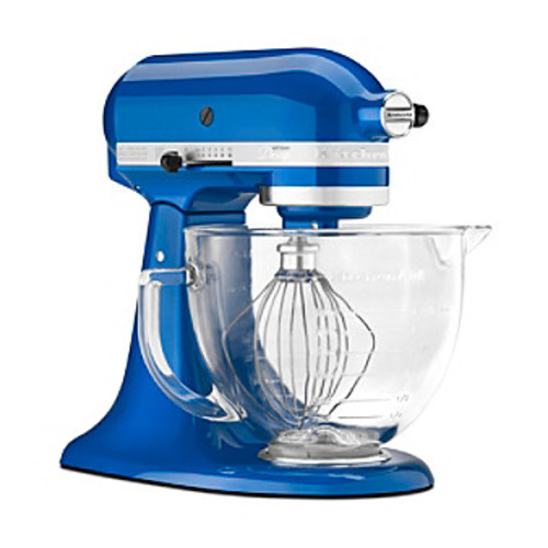 KitchenAid Artisan Design 5-Qt. Glass Bowl Stand Mixer