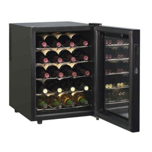 Sunpentown 20-Bottle ThermoElectric Wine Chiller with Touch-Senstive Controls(SUNPN124)