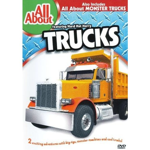 All About Trucks and Monster Trucks [DVD]