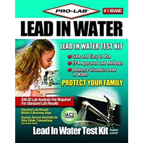 PRO-LAB Lead In Water DIY Test Kit LW107