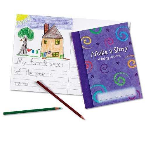 Learning Resources Make a Story Writing Journal, Set of 10 [1]