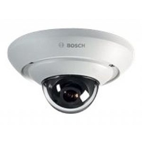Bosch FLEXIDOME IP micro 2000 HD - Network surveillance camera - dome - color (Day&Night) - 1280 x 720 - fixed focal - audio - LAN 10/100 - MJPEG, H.264 - DC 12 - 24 V / PoE
