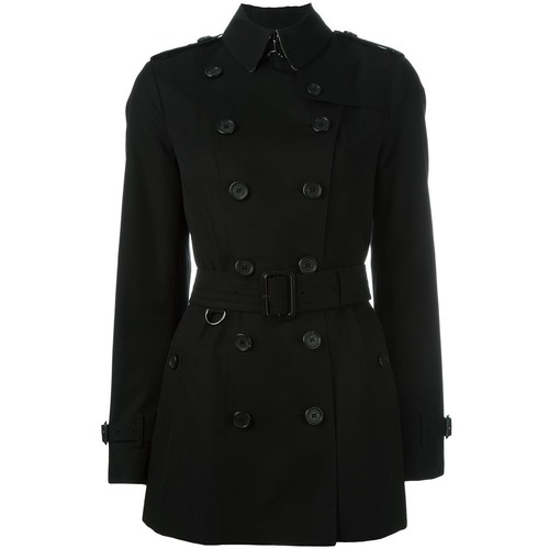 BURBERRY 'Sandringham' Double Breasted Coat