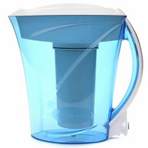 Zero Water ZD013 Pitcher 8 Cups Ion Exchange Dispenser Filter + TDS Meter