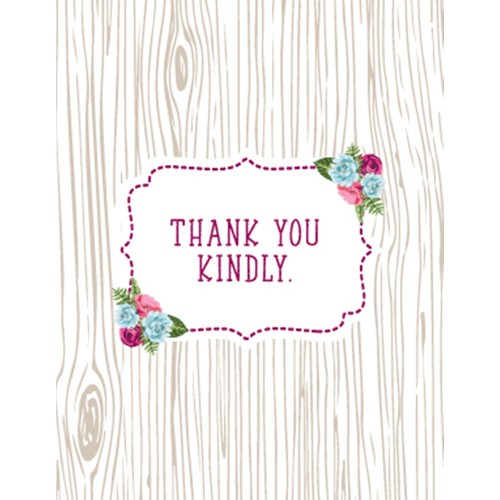 Thank You Kindly Everyday Card