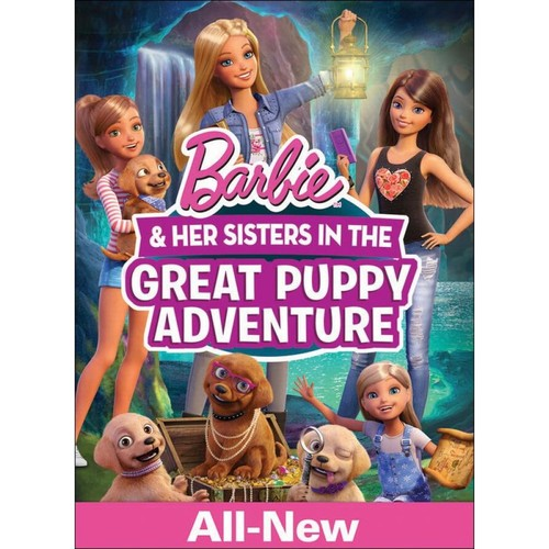Barbie and Her Sisters in the Great Puppy Adventure [DVD] [2015]