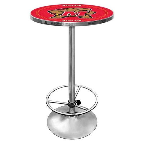 Trademark Maryland University Chrome Pub/Bar Table