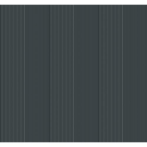 Metallics Book Classic Stripe Wallpaper