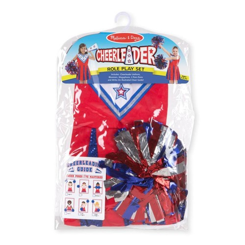 Melissa and Doug Cheerleader Costume and Role Play Set