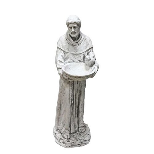 Garden Statues, Outdoor Garden Statues, St Francis Garden Statue, 45 Inch