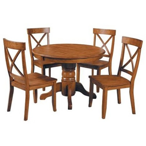 Pedestal Dining Table - Home Styles