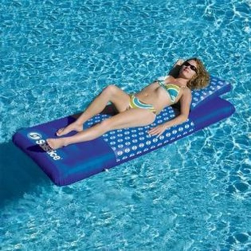 Swimline NT1354 Designer Mattress Inflatable Floating Lounger