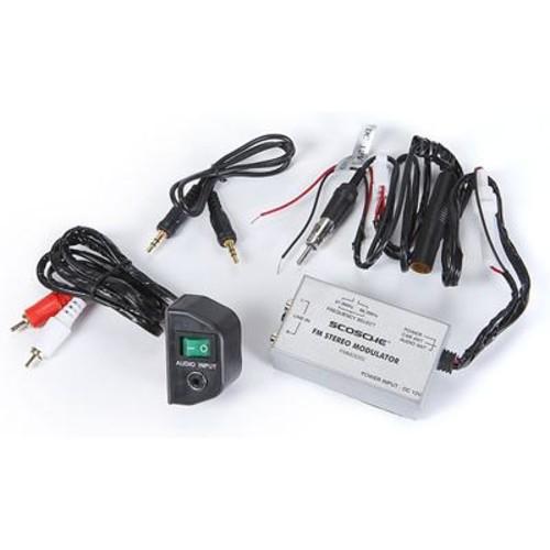 Scosche FM-MOD02 Play your iPod, satellite radio, or portable music player through any car's FM radio