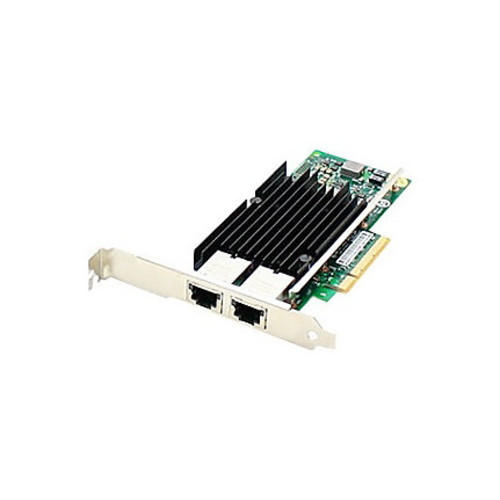 AddOn HP 716591-B21 Comparable 10Gbs Dual Open RJ-45 Port 100m PCIe x8 Network Interface Card