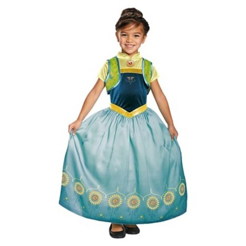 Disney: Frozen Girls Anna Fever Deluxe Costume