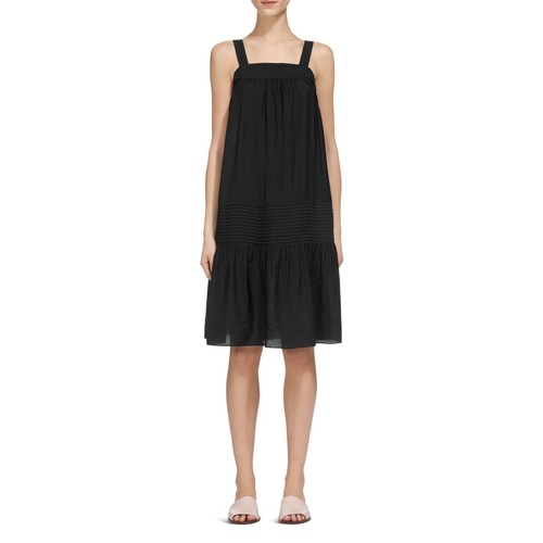 WHISTLES Simone Ruched Sun Dress