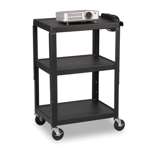 Balt 26-Inch to 42-Inch Adj Utility Cart, Black