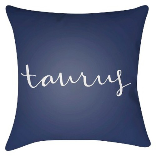 What's your Sign - Taurus Throw Pillow - Surya
