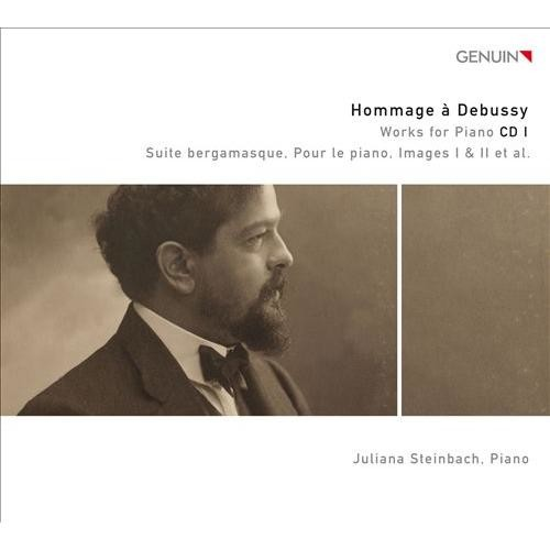 Hommage  Debussy: Works for Piano, CD 1 [CD]