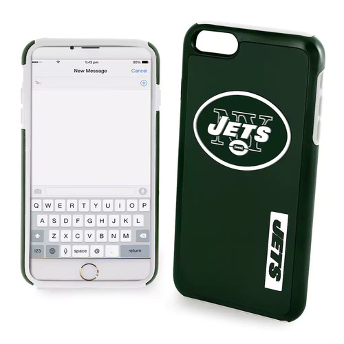 Forever Collectibles New York Jets iPhone 6 Plus Dual Hybrid Cell Phone Case