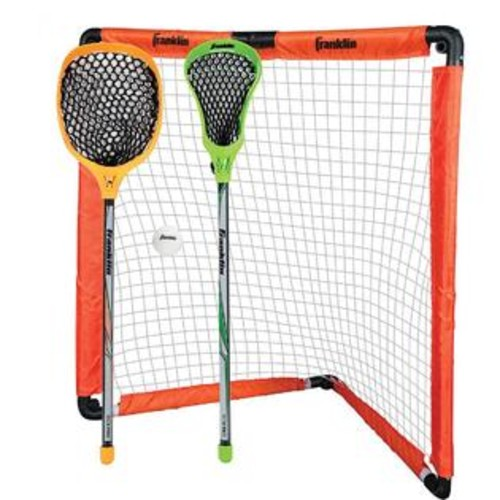 FRANKLIN YOUTH LACROSSE GOAL AND STICK SET