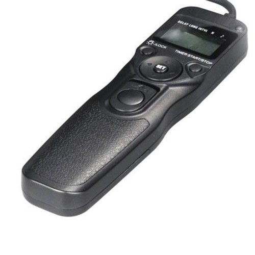 Bower LCD Timer and Remote Shutter Release for Canon, Pentax and Samsung Models RCLC1R