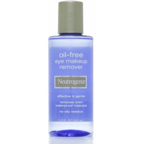 Neutrogena Oil-Free Eye Makeup Remover, 5.5 Fl. Oz [5.5 Ounce]