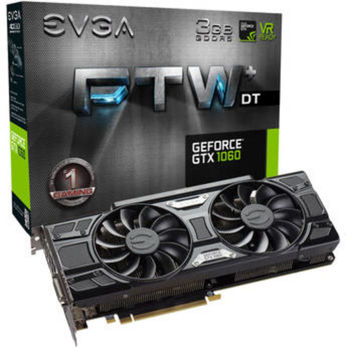 GeForce GTX 1060 FTW+ DT GAMING Graphics Card