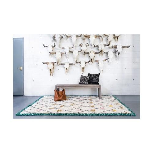 Fez Triangle Moroccan Shag Rug