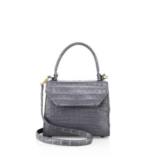 NANCY GONZALEZ Mini Lily Crocodile Leather Crossbody Bag