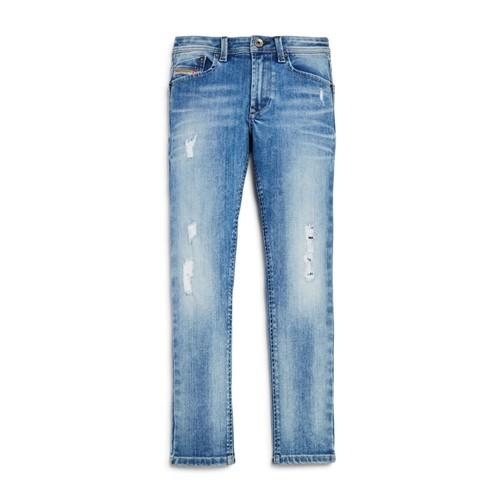 Boys' Waykee Straight Distressed Stretch Jeans - Little Kid, Big Kid