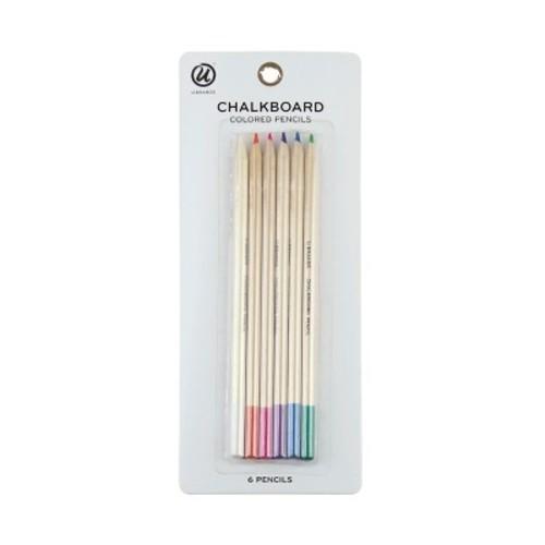 Ubrands Chalk Pencils, 6ct - Multicolor