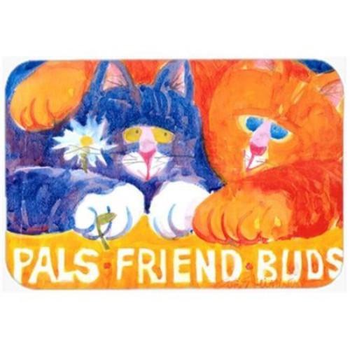 Caroline's Treasures Cats Pals Friends Buds Glass Cutting Board