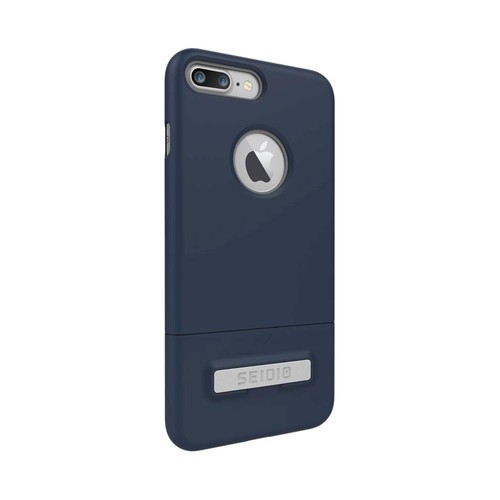 Seidio - SURFACE Case for Apple iPhone 7 Plus - Gray/Midnight blue