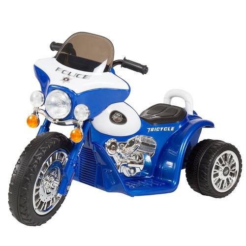 Lil' Rider Mini Three Wheel Police Chopper Ride-On