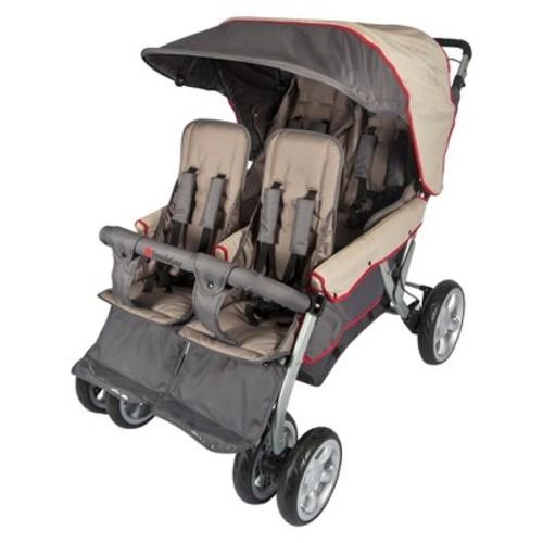 Foundations Quad LX4 Commercial 4 Passenger Stroller