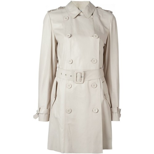 DESA COLLECTION Double Breasted Trench Coat