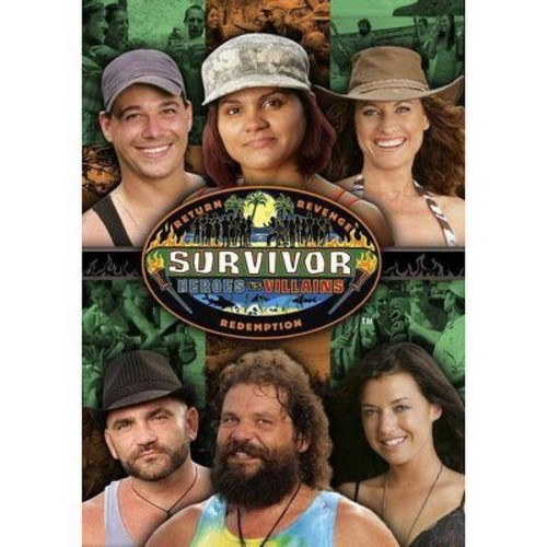 Survivor 20: Heroes Vs. Villians DVD Movie 2010