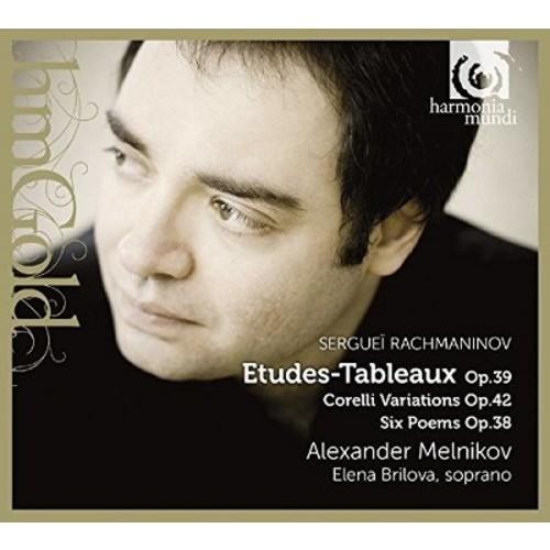 Alexander melnikov - Rachmaninov:Etudes tableaux 39/Corell (CD)
