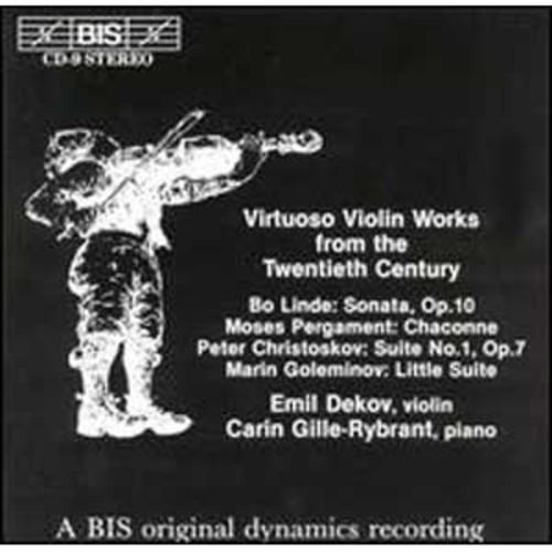 Virtuoso Violin Works - 20th Century By Emil Dekov (Audio CD)